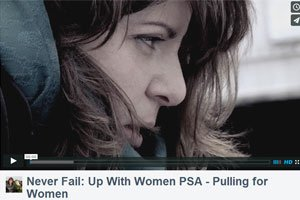 Never Fail: Up With Women World Record PSA