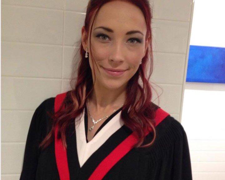 Delilah graduating