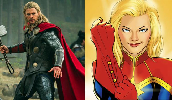 THORCAPTAINMARVEL