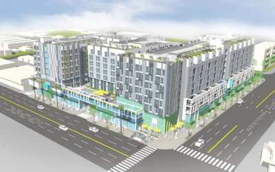 LA Planning Commission Approves 412-Unit Mixed-Use Project in East Hollywood