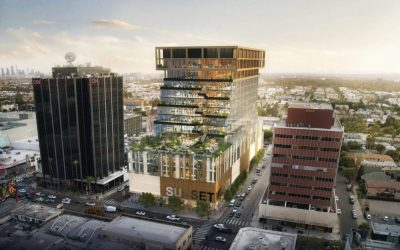 15-Story Office Tower in Hollywood Takes a Step Forward