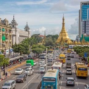Gillian Cornish at ANU's biannual Myanmar Update