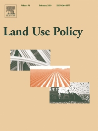 New article in Land Use Policy on public policy and urban expansion by human geography team