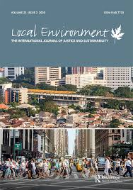 Article on delivering social sustainability in Local Environment, by Sebastien Darchen