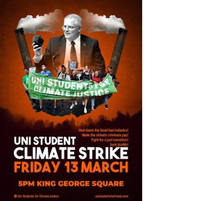 Brisbane: University climate strike!