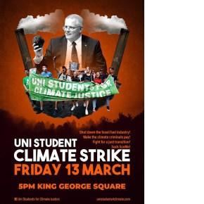 Brisbane: University climate strike!