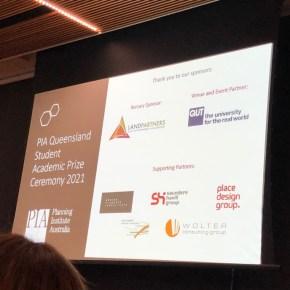 Planning Institute of Australia Queensland Student Academic Prize Ceremony 2021