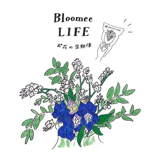 Bloomree LIFEイラスト