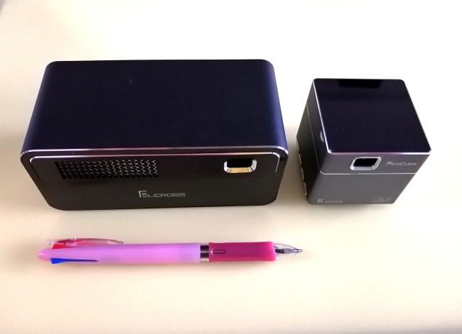 PicoCubeXとH300サイズ比較