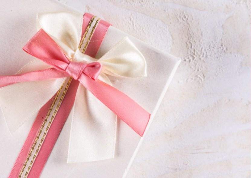 招待制のプレゼント