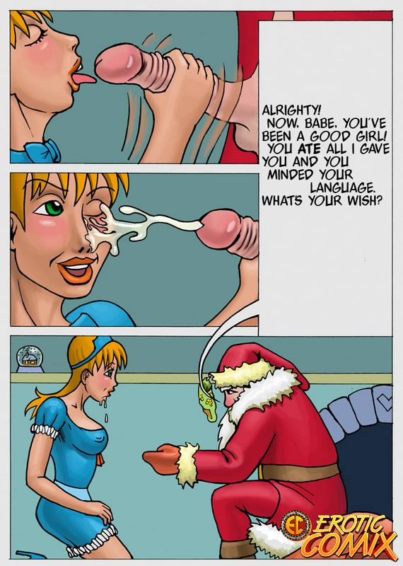 Father Christmas comic 5