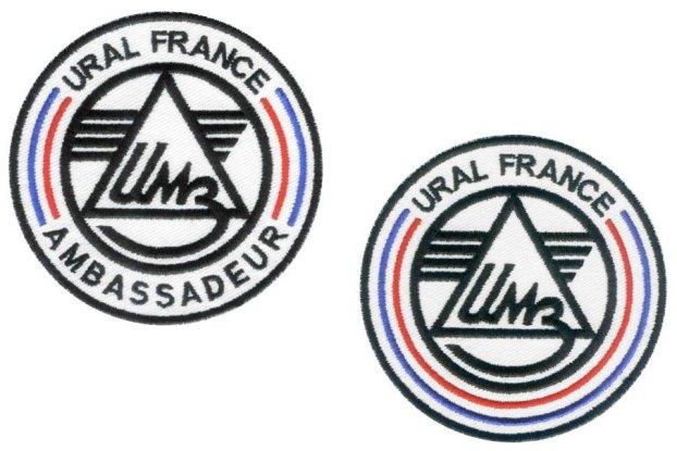 Ecussons Ural France Ambassadeur URAL FRANCE