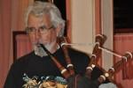 Jacques et sa cornemuse Assemblée Général 2014 URAL FRANCE