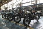 Usine Ural Irbit motos en cours de montage URAL FRANCE