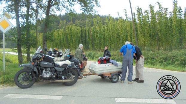 sur la route de l'Autriche