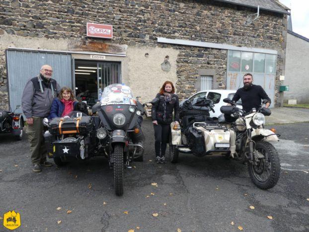 Visite au garage Est-Motorcycle - Ruralistan tour - Uralistan