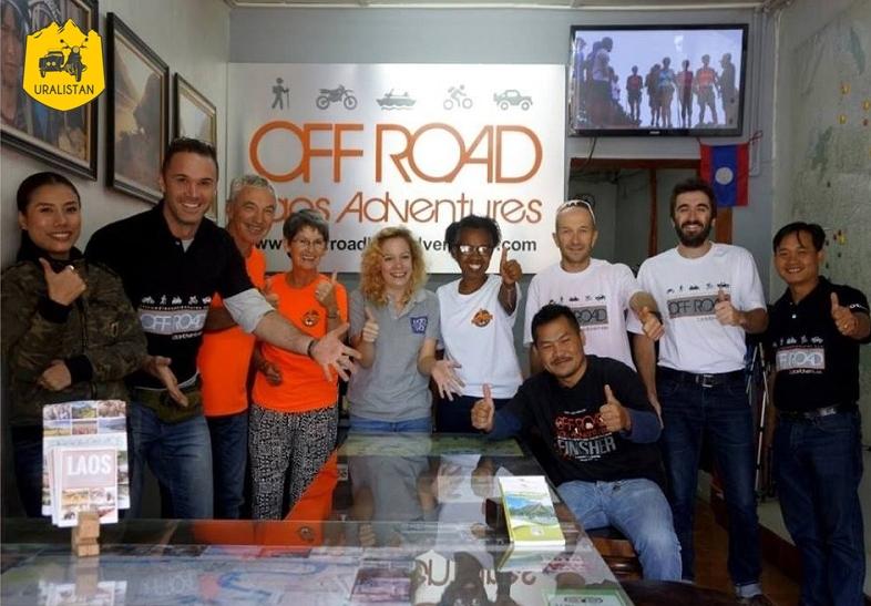 agence de voyage locale au Laos Off Road Laos Adventures