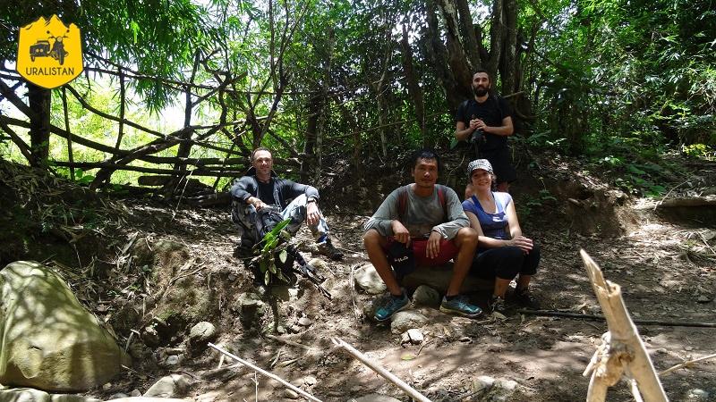 Trek dans la province de Luang Prabang, repérage au Laos, Off Road Laos Adventures