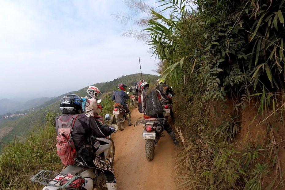 Tour moto nord Laos - Off Road Laos Adventures