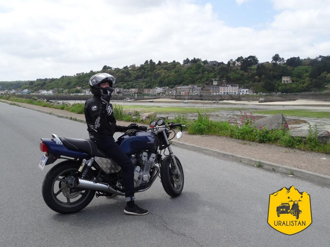 Tour moto en Bretagne, Saint Brieux