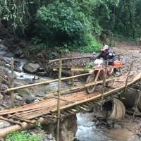 Repérage moto aux confins du Laos