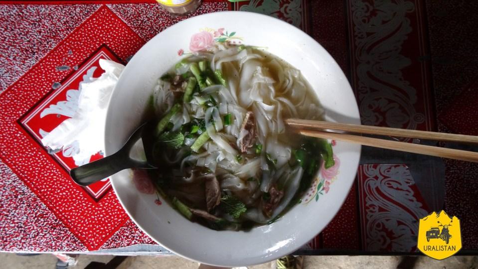 Plat laotien, soupe locale
