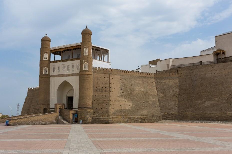 Citadelle d'Ark, Boukhara - les incontournables d'Ouzbékistan