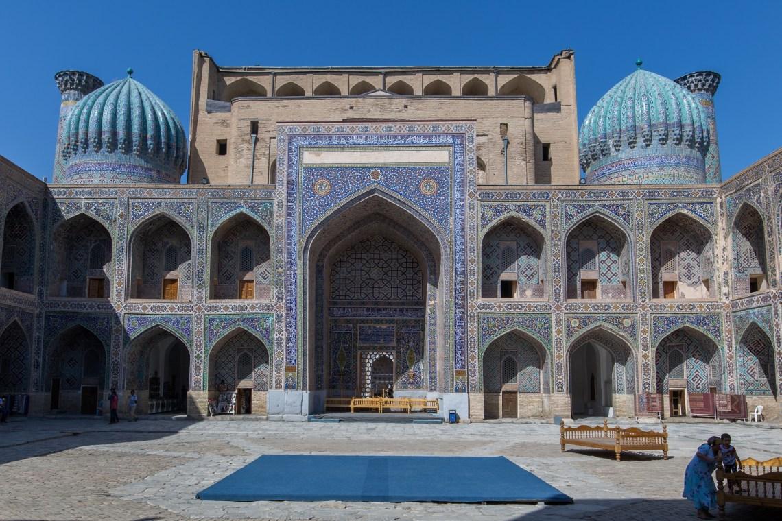 Régistan, Samarcande - les incontournables d'Ouzbékistan