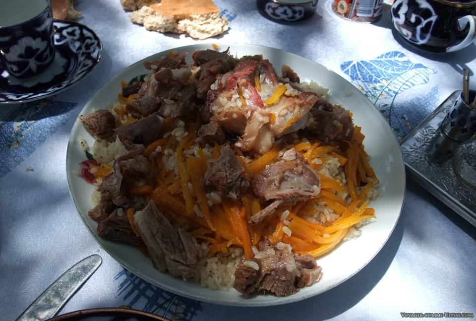 le Och, cuisine Ouzbek