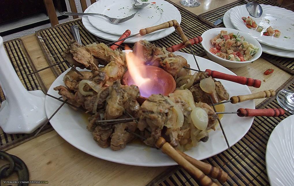 le Chechlik,cuisine Ouzbek