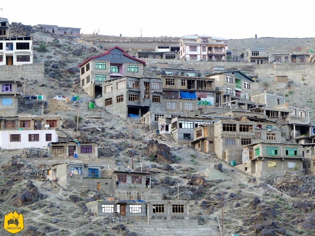 Kargil, ville du Ladakh en Inde