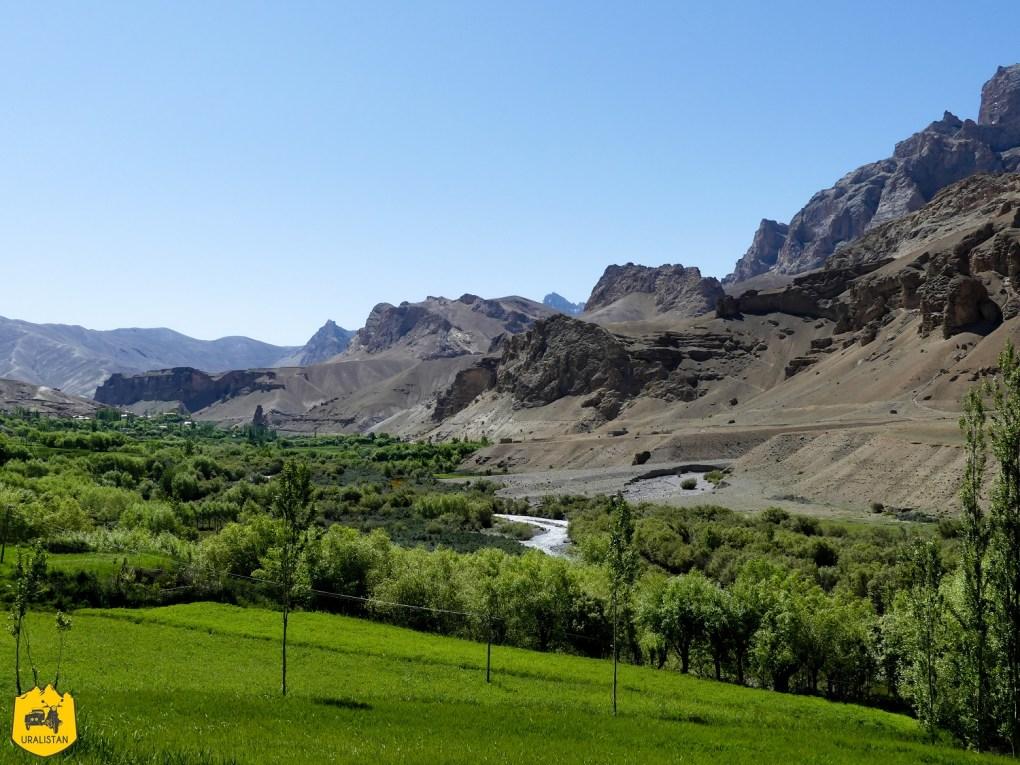 Paysages et montagnes du Ladakh, Himalaya, Leh