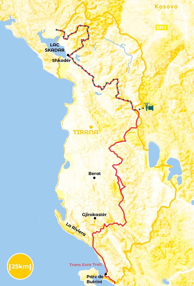 Roadtrip en Albanie - notre itinéraire - URALISTAN
