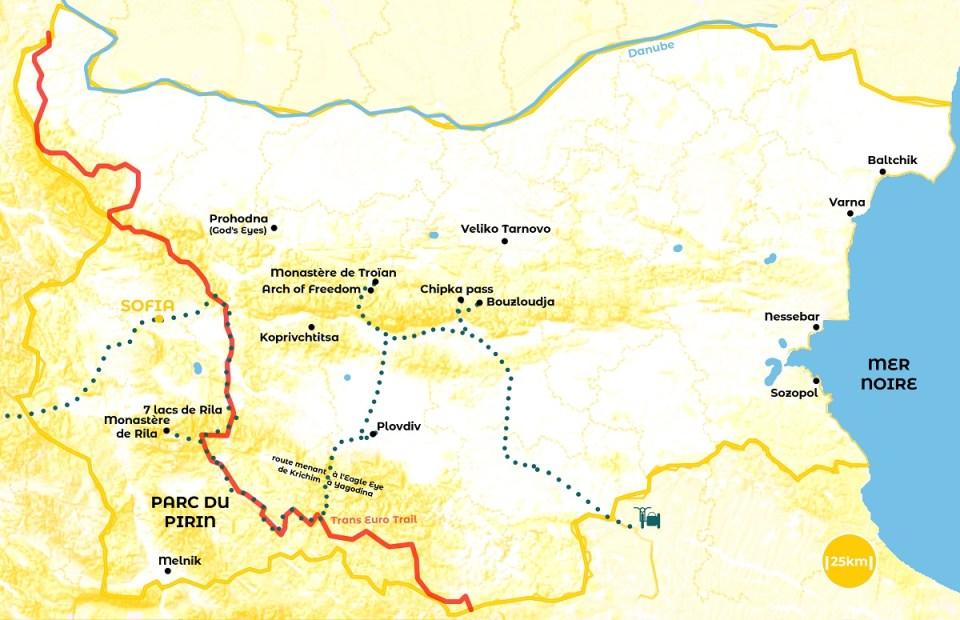 Voyage en Bulgarie, incontournables, itinéraire d'un roadtrip