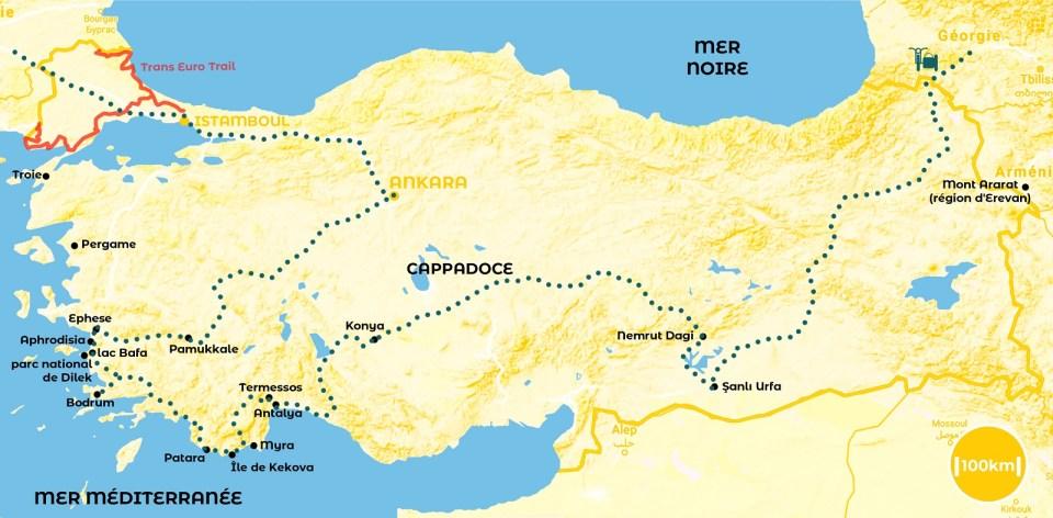 Roadtrip en Turquie - notre itinéraire - URALISTAN
