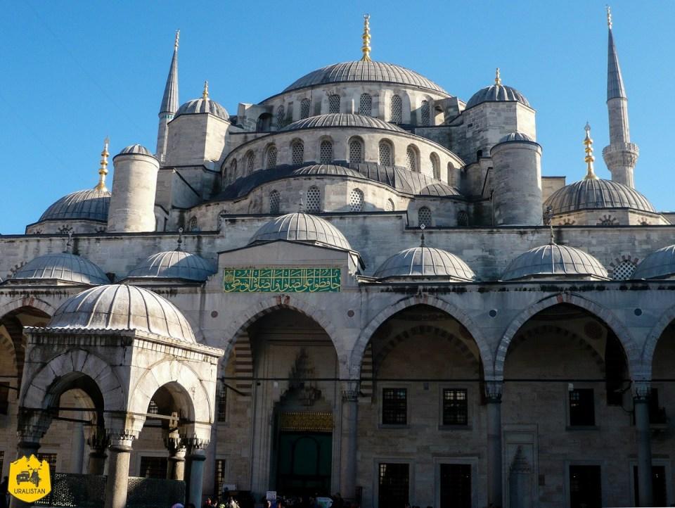 Voyage en Turquie, Mosquée bleue à Istamboul