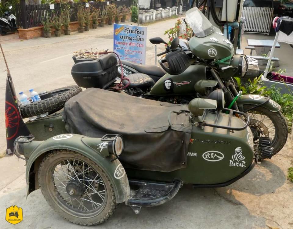 Chiang Jiang, side-car Chinois