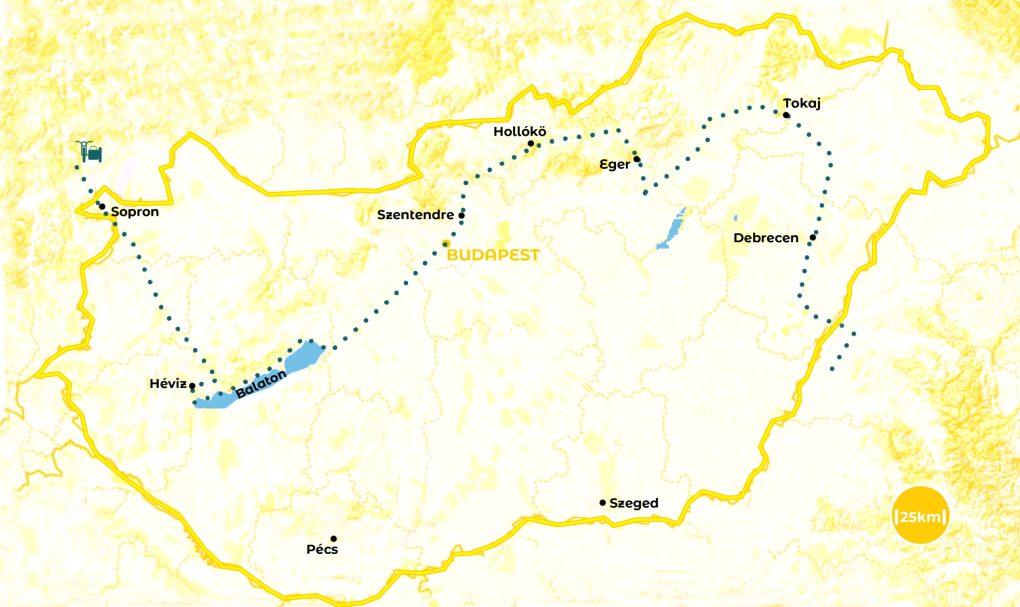 Roadtrip en Hongrie - notre itinéraire - URALISTAN