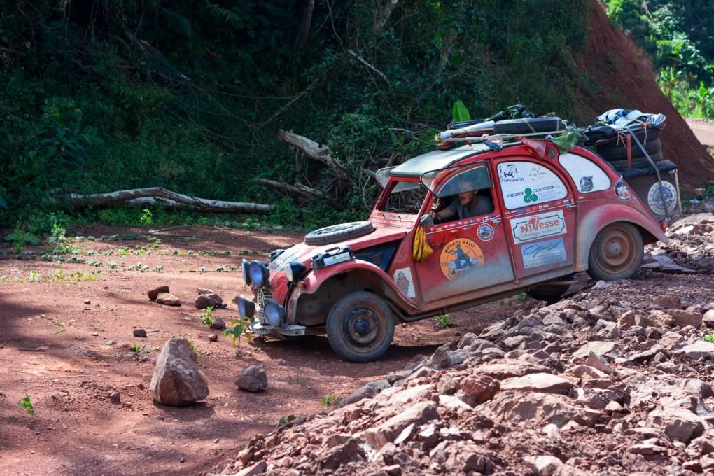 Rodéo en 2CV - roadtrip, mongol Rally