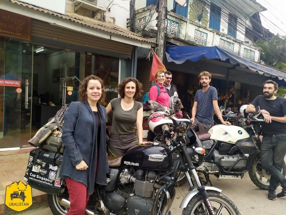 Road trip moto de Suisse à Singapour - Bonnie & Klyde