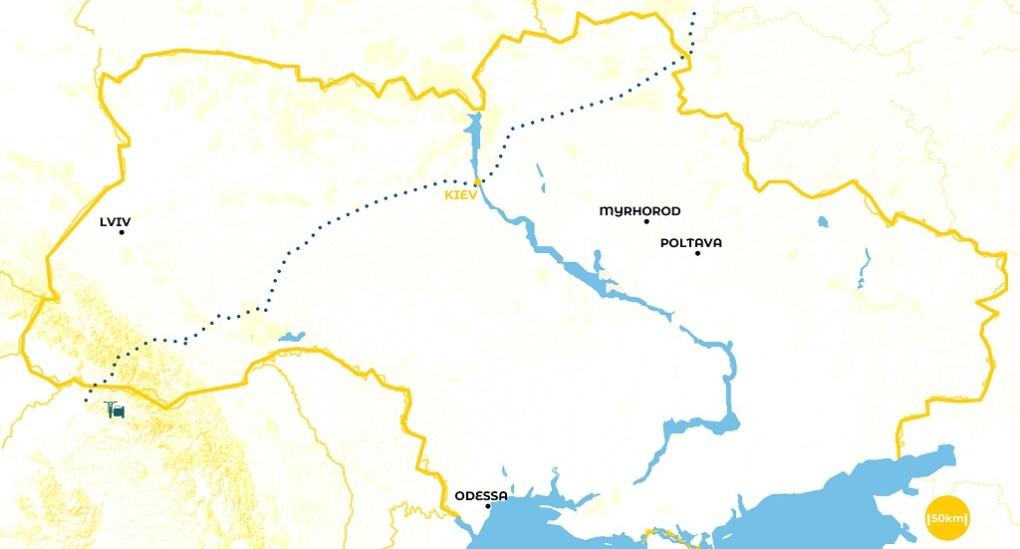 Roadtrip en Ukraine - notre itinéraire - URALISTAN