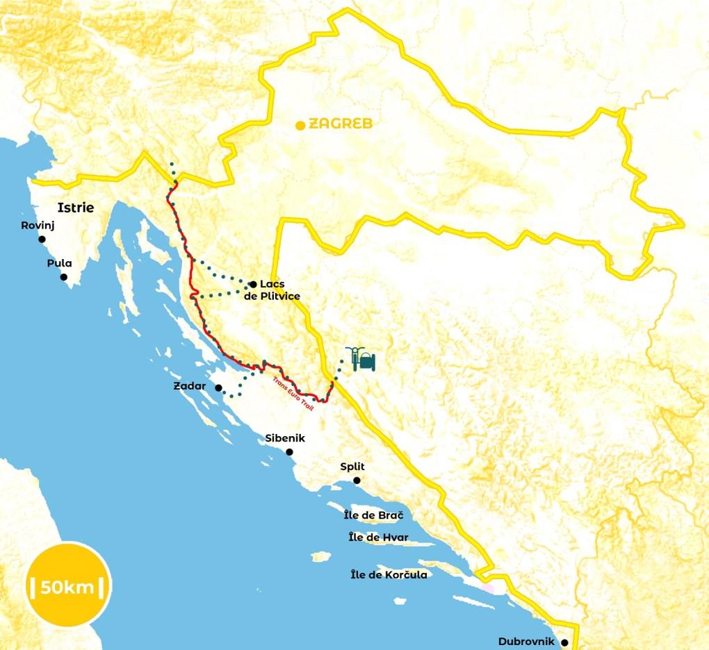 Roadtrip en Croatie - notre itinéraire - URALISTAN