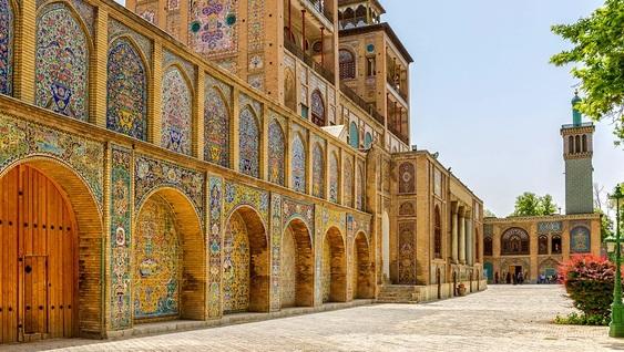 Incontournables iraniens, Voyage en Iran : Téhéran, Palais du Golestan