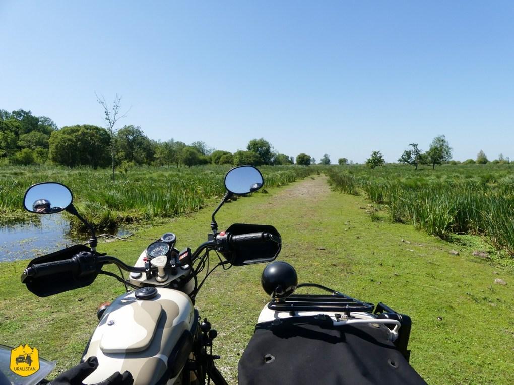 Ile de Fédrun en Brière, Balade moto du dimanche - URALISTAN