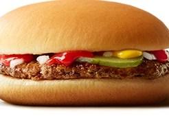 マックのハンバーガー
