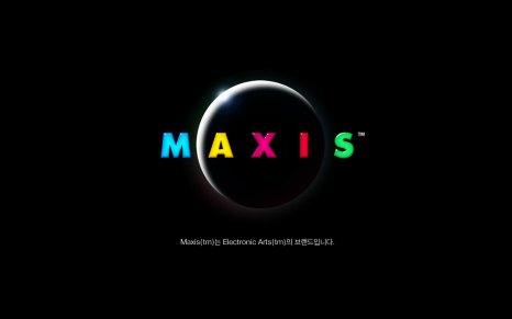 OS X 심시티 4 디럭스 에디션 한글 구동모습1
