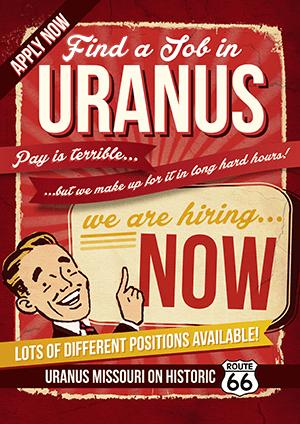 Find a Job in Uranus