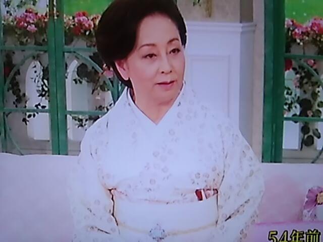 山本陽子の徹子の部屋で帯留めステキ!年齢と若い頃が美しい画像と秘訣