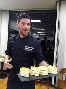 チーズ職人世界一の日本在住フランス人ファビアン・デグレさんのお店?出世の階段?