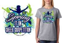 CHEER T SHIRT LOGO DESIGN Cheers Spring It On BY ...